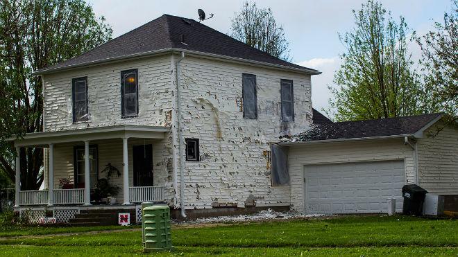 Дом после стихии