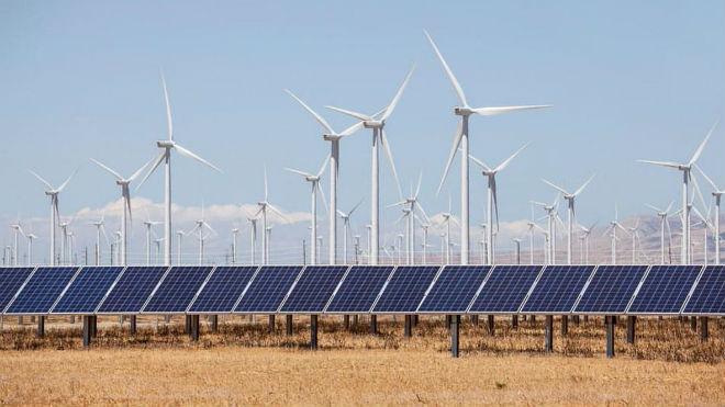 Ветряные и солнечные электростанции