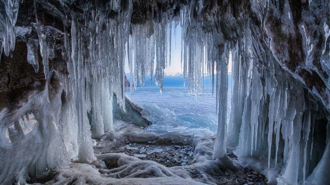 Ледяные колонны