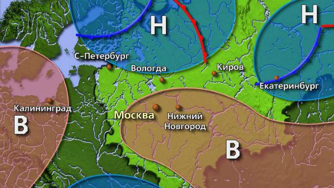 Обозначение на карте