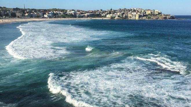 Разрыв между волнами