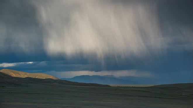 Испарение в облаках