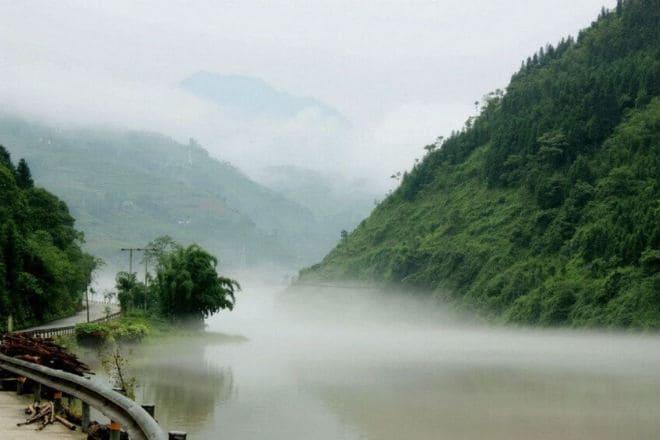 Долина Хэйчжу в Китае
