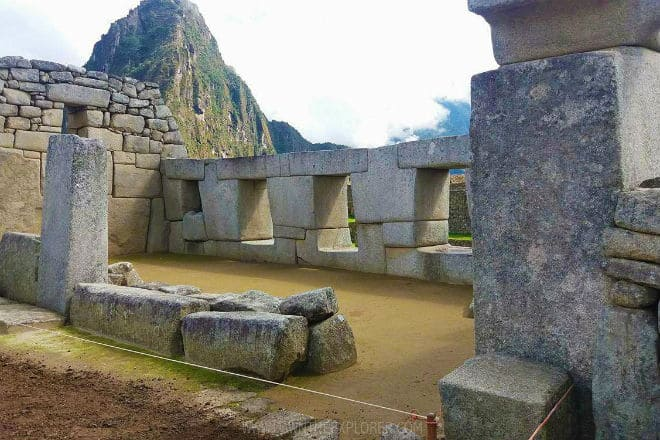 Храм Трех окон в Мачу-Пикчу