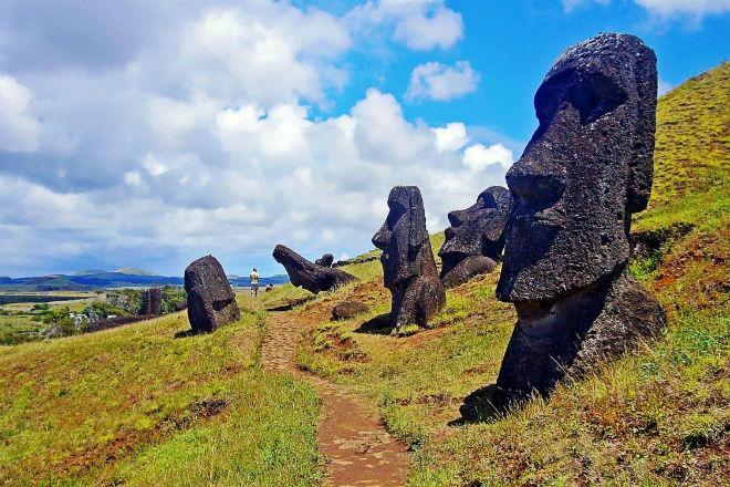 Каменные фигуры острова Пасхи