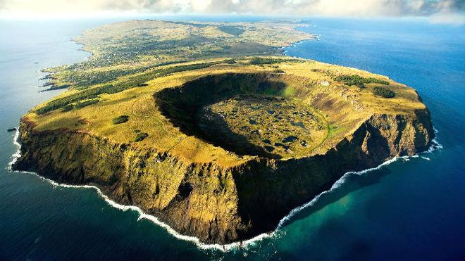 Как выглядит остров Пасхи?