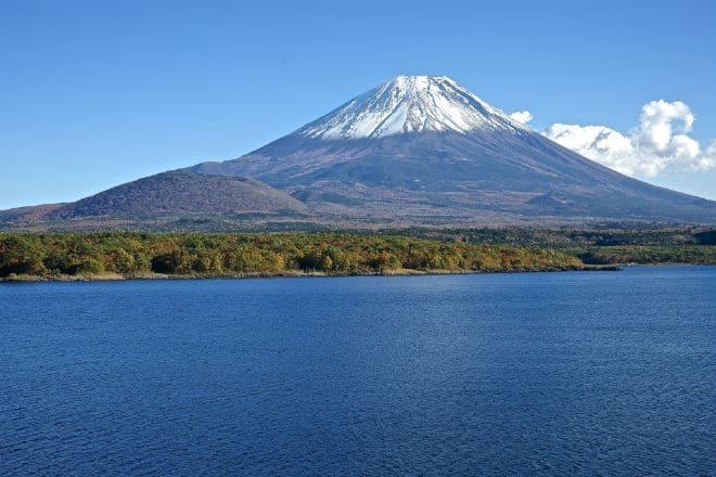 Как выглядит вулкан Фудзияма?
