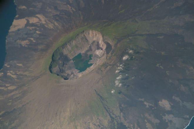 Снимок вулкана Йеллоустоун со спутника