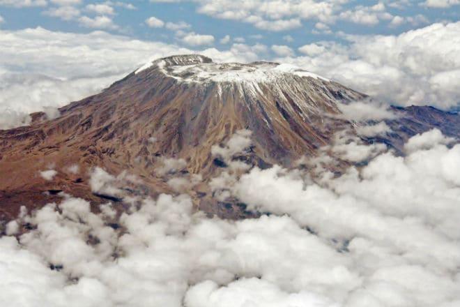 Как выглядит стратовулкан Килиманджаро