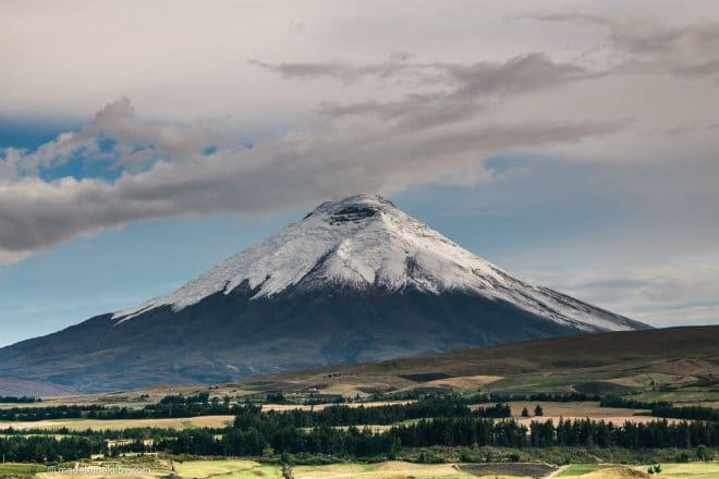 Гора Котопахи в Эквадоре