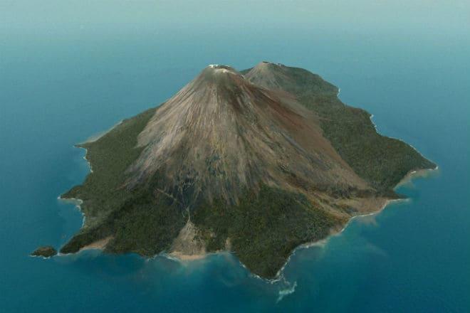 Вулкан Анак-Кракатау