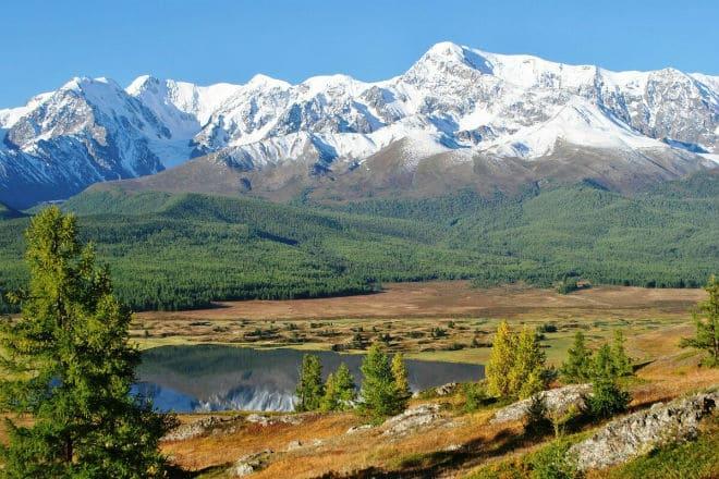 Вершины Алтайских гор
