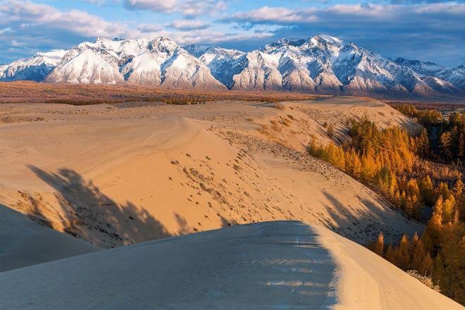 Пустыня Чарские пески