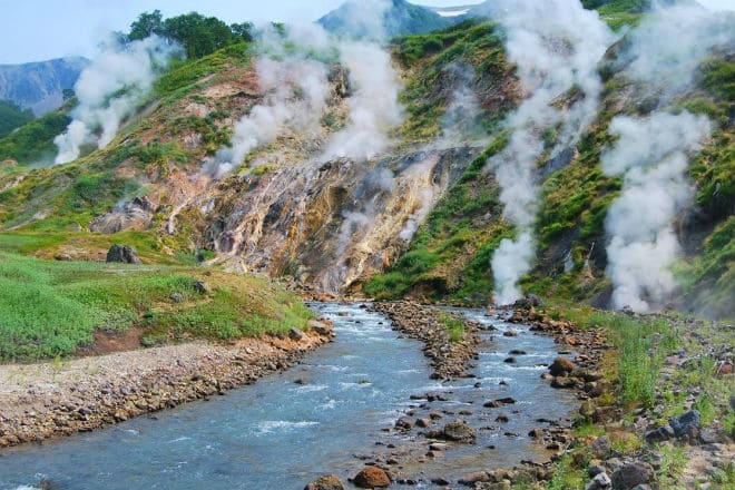 Река Гейзерная в Долине гейзеров
