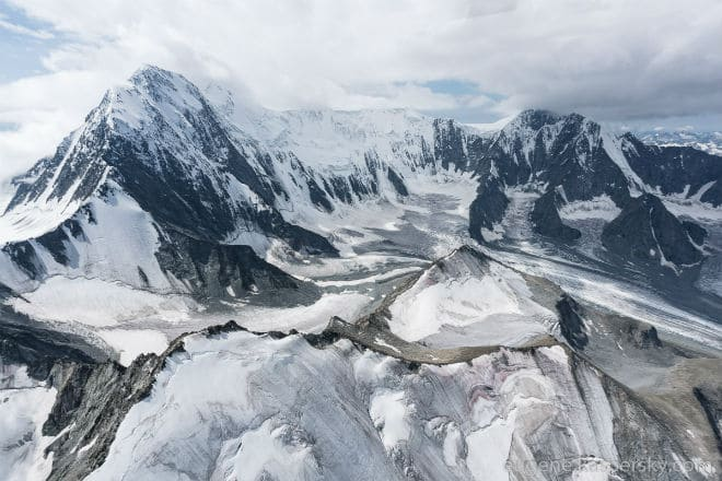 Вершина горы Белуха