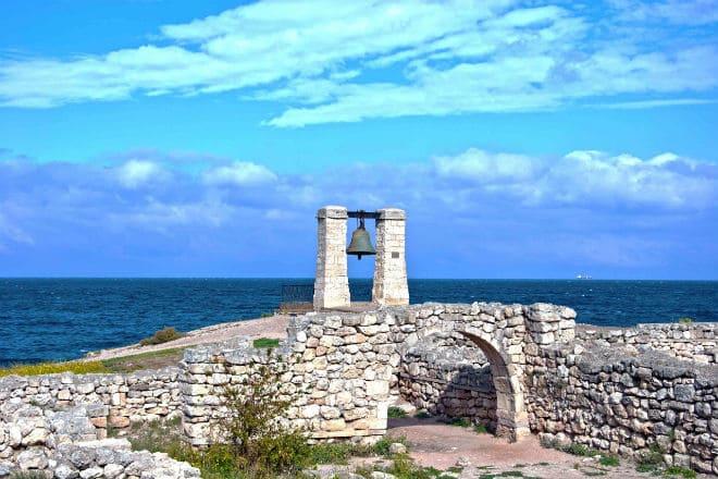 Древний город Херсонес в Крыму