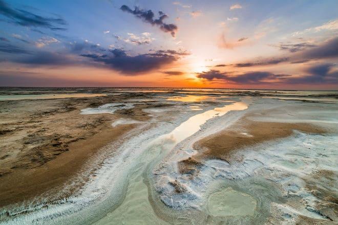 Озеро Баскунчак в Астраханской области