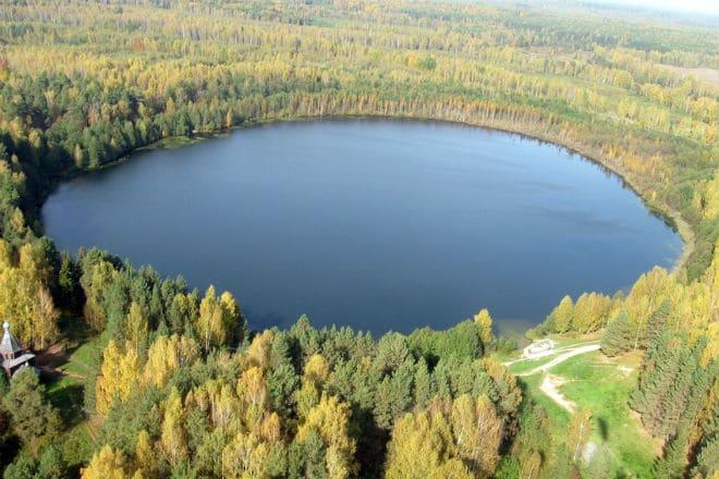 Озеро Светлояр в Нижегородской области