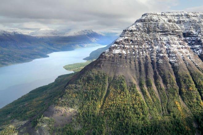 Гора Камень на плато Путорана