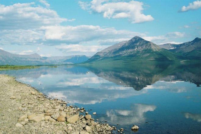 Озеро Лама на плато Путорана