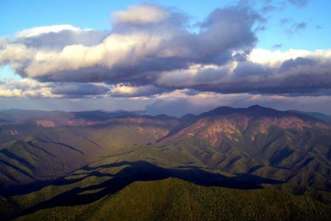 Горы Сихотэ-Алинь на Дальнем Востоке