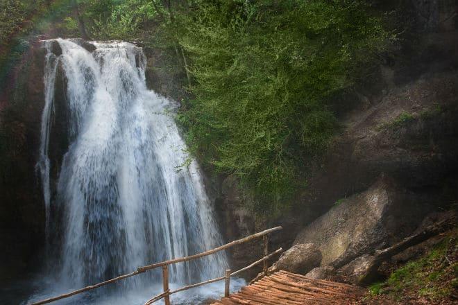 Водопад Джур-Джур вблизи Алушты