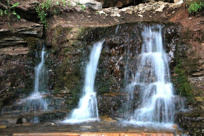 Каскады водопада Плакун