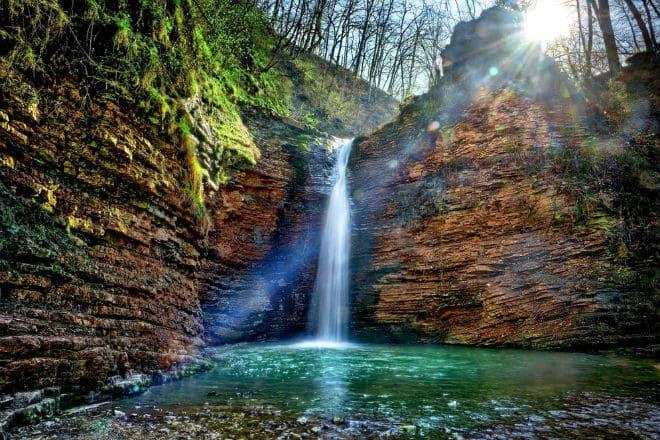 Водопады Руфабго: описание, где находятся, интересные факты