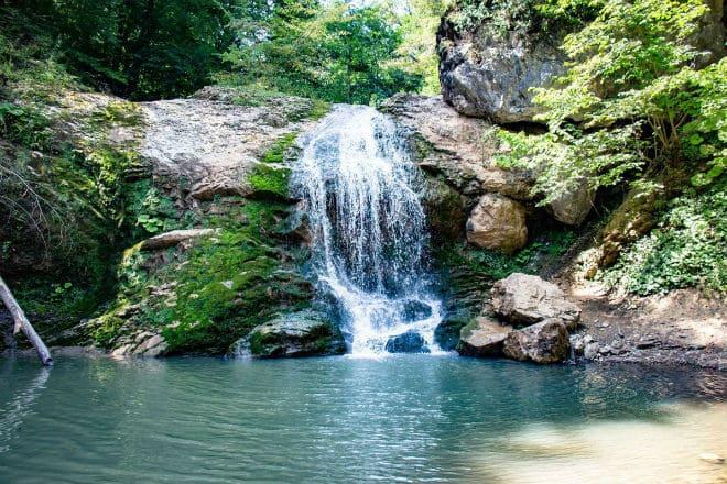 Водопад Шум комплекса водопадов Руфабго