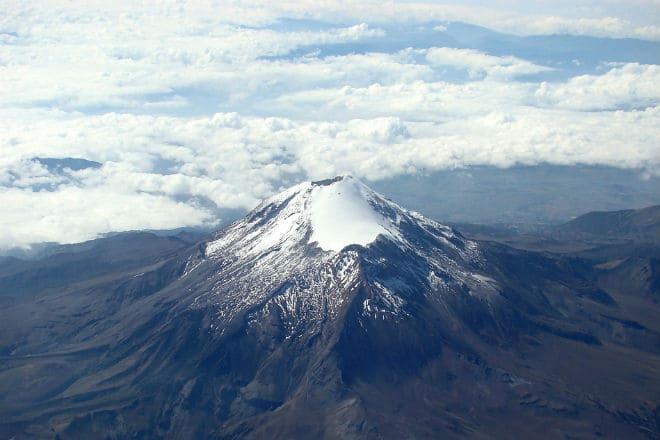 Вулкан Орисаба (Ситлалтепетль) в Мексике