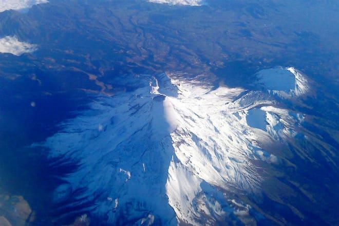 Вулкан Ситлалтепетль сверху