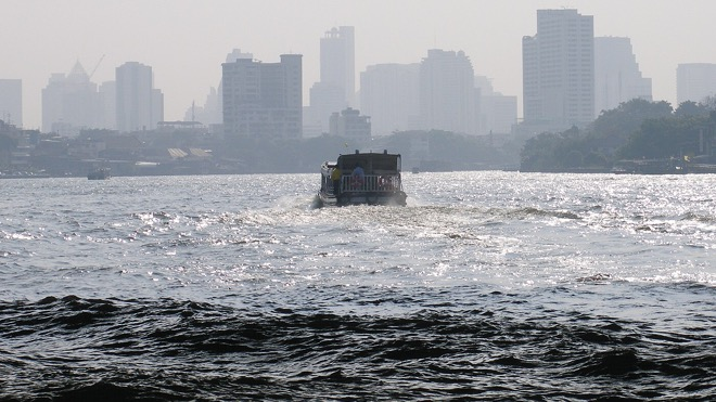 Водный транспорт на реке Чаупхрая, Бангкок